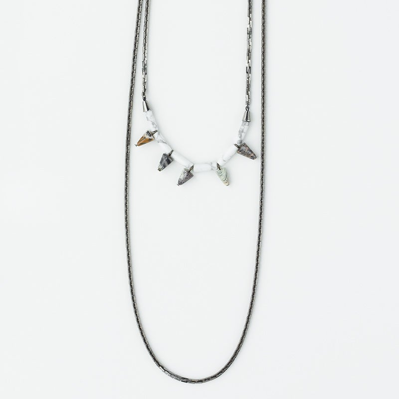 Image of WINNOW Arcturus Double Row Necklace