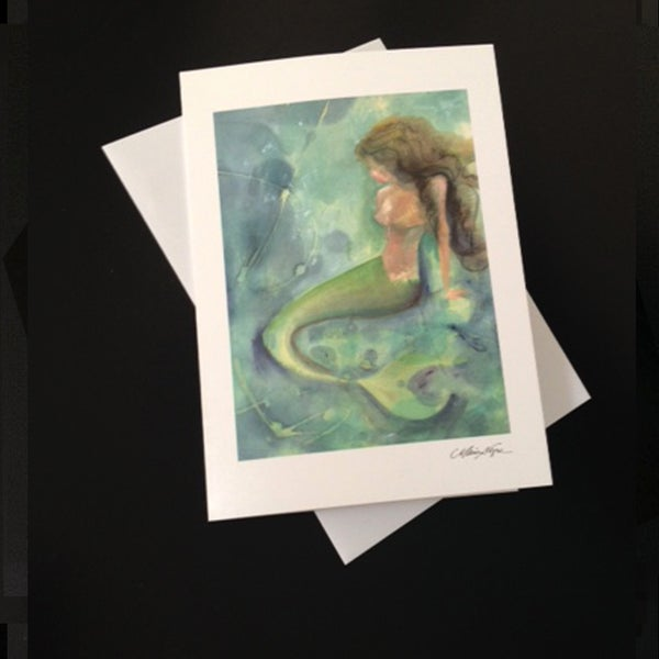 Image of Mermaid III 5-Pack Greeting Card Set