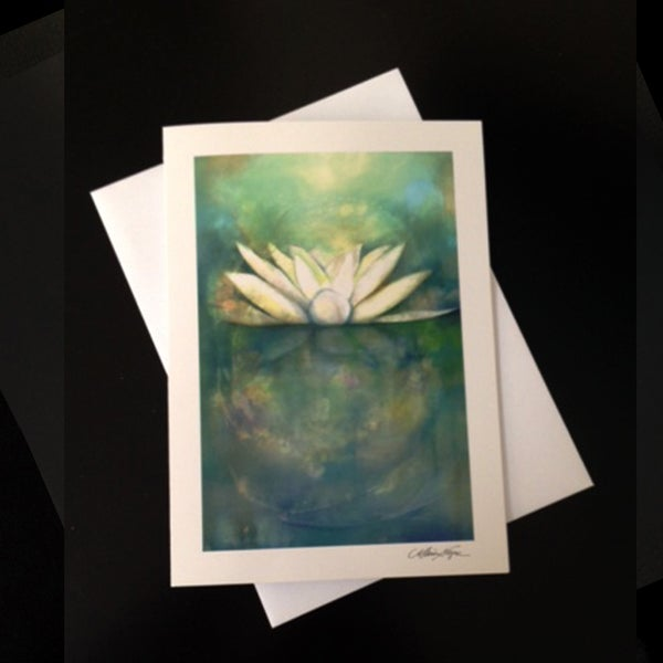 Image of Lotus 5-Pack Greeting Card Set