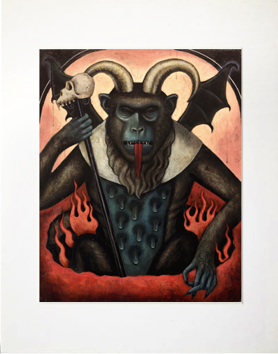 Image of Matted Print- Last Judgement