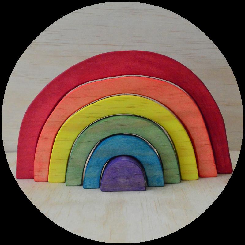 Image of Rainbow Stacker