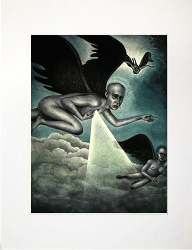 Image of Matted Print- From The Ashes of Angels
