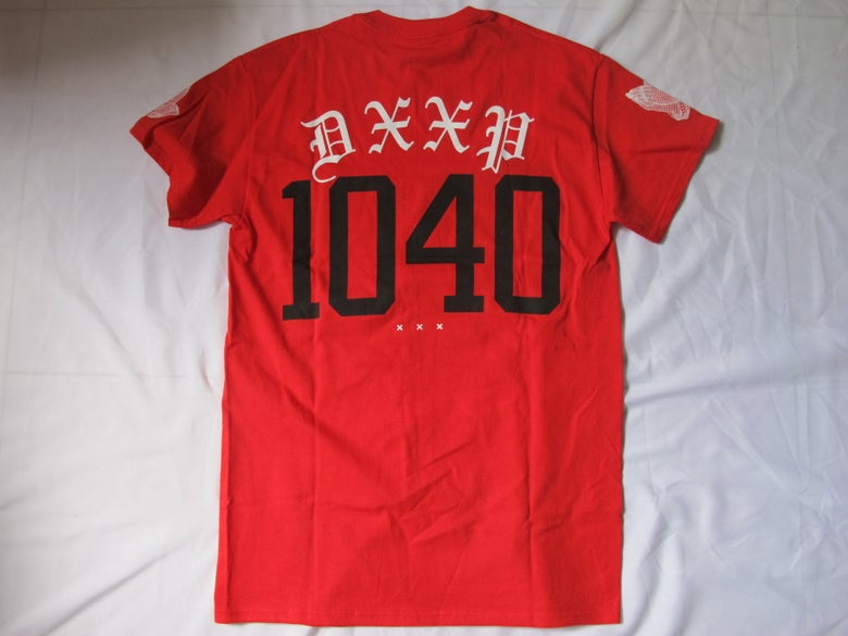 Image of 10 Deep x 40 oz NYC : 10-40 Tee (Red)