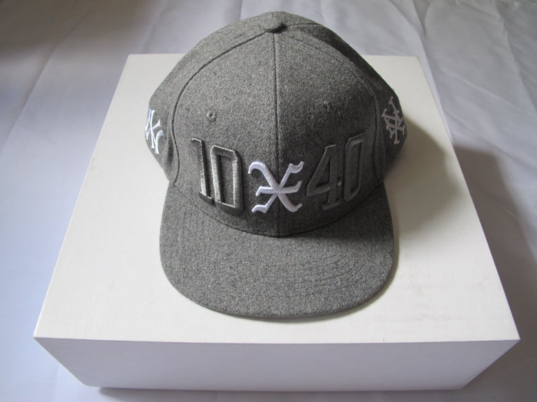 Image of 10 Deep x 40 oz NYC : 10-40 Snapback (Grey)