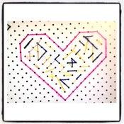 Image of Stitch Art (Heart)