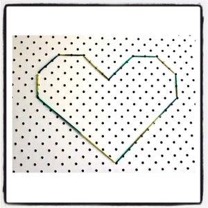 Image of Stitch Art (Heart 2)