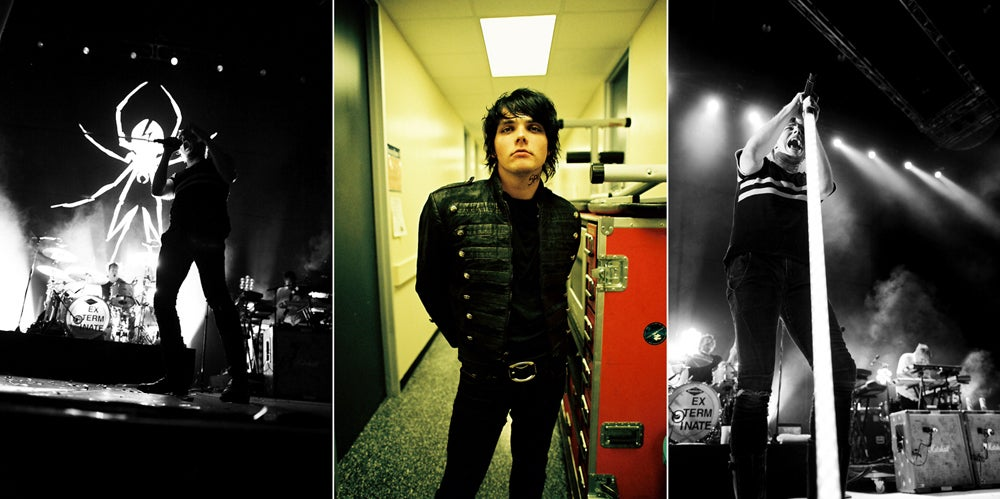 Image of MCR x Gerard+Frank 9 photograph print set