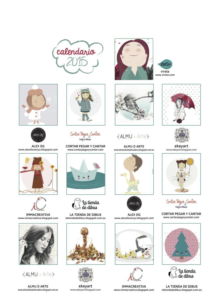 """Image of Calendario 2015 """"365 motivos para soñar"""""""
