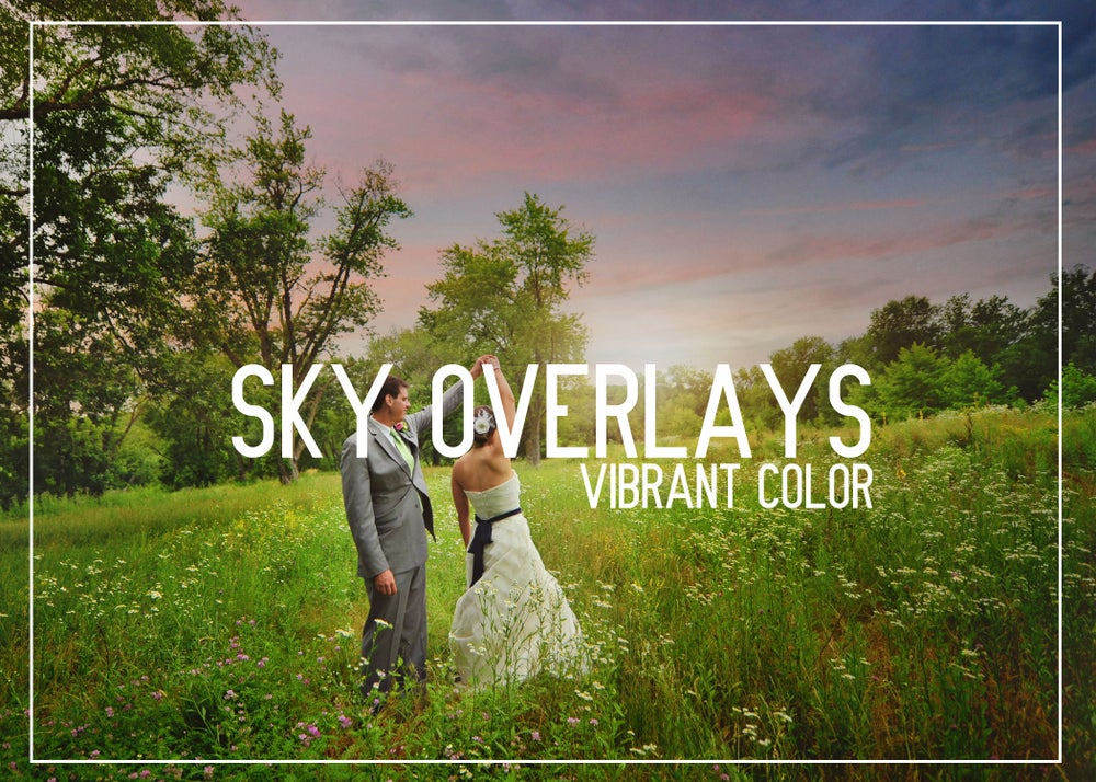 Image of SKY OVERLAYS - VIBRANT COLOR