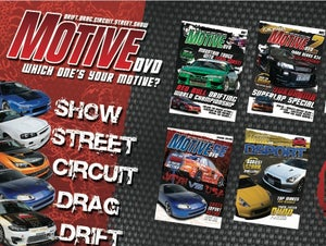 Image of MOTIVE DVD COMPLETE SET - 29 Issues