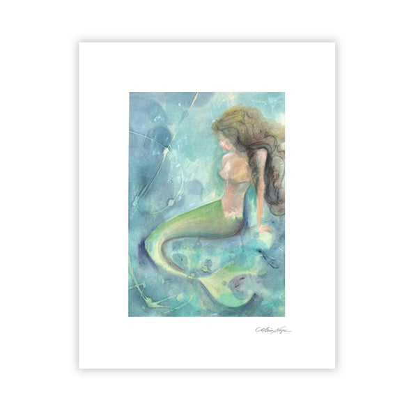 Image of Mermaid 3, Archival Paper Print