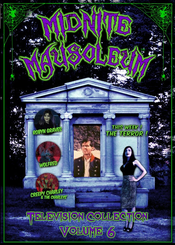 Image of *NEW* MIDNITE MAUSOLEUM TV Collection #6 DVD