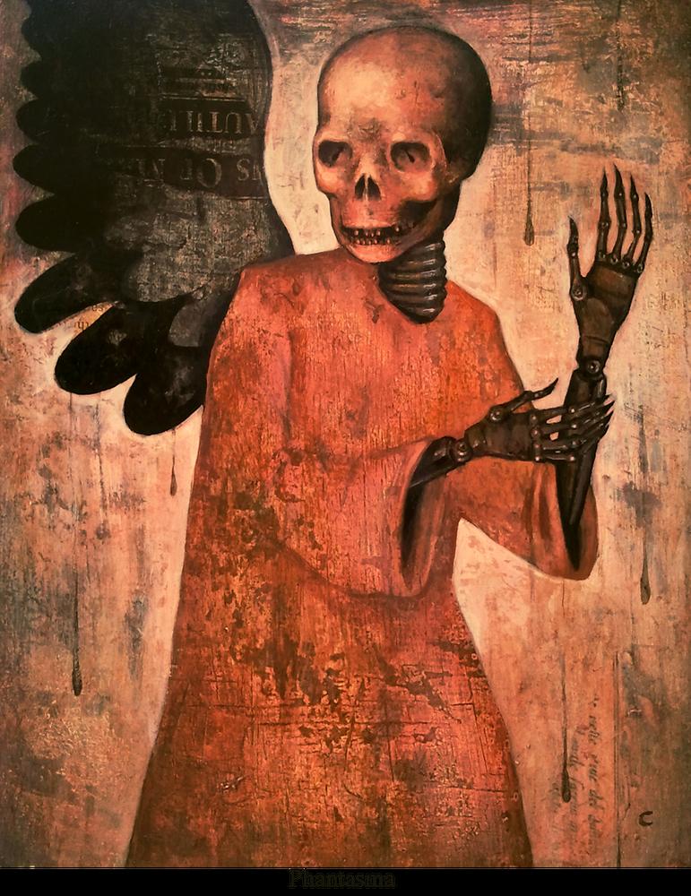 Image of Canvas Giclee- Phantasma