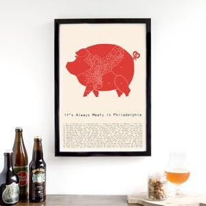 Image of It's Always Meaty in Philadelphia  - Neighborhood Meat Map