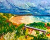 Image of Surf beach postcard #30