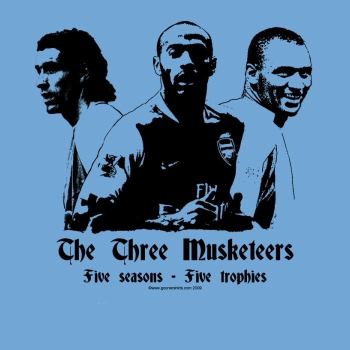 Image of THREE MUSKETEERS (blue)