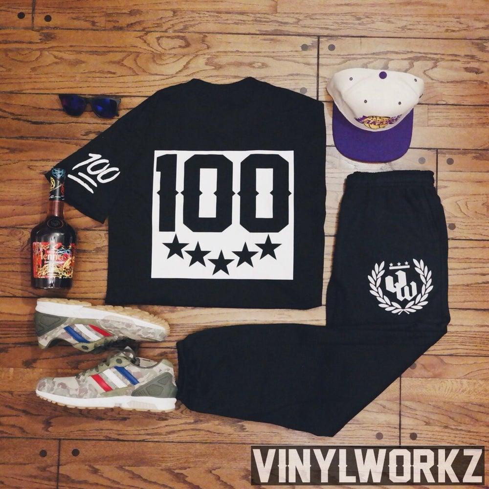 Image of Vinylworkz x Keep it 100 tee