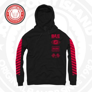 Image of JCI Sport Black/Red Hoodie