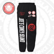 Image of JCI Sport Black/Red Sweatpants
