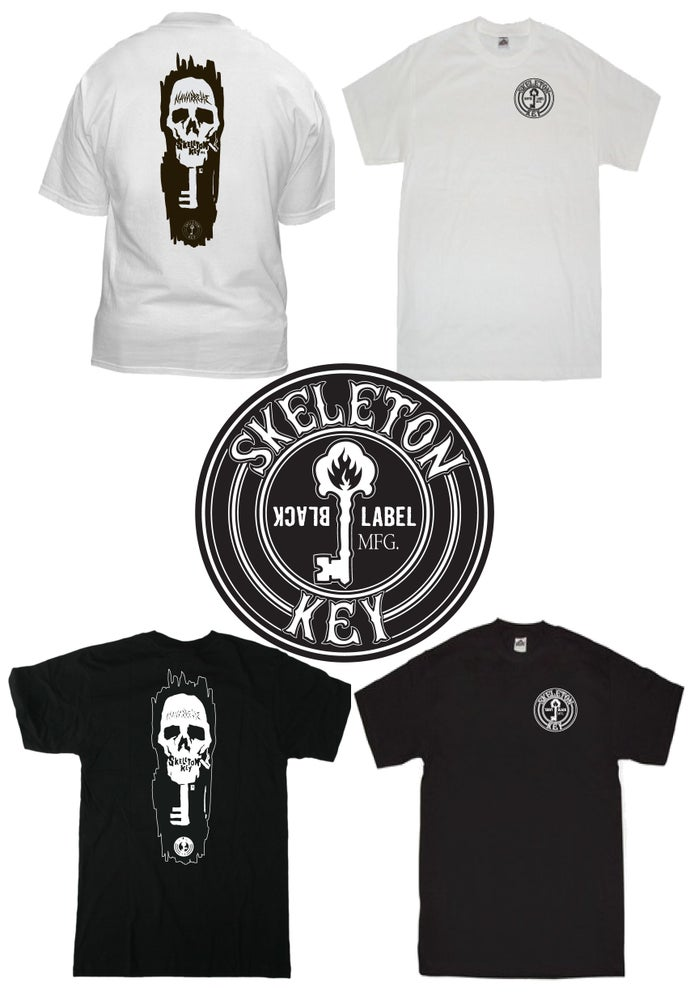 Image of Skeleton Key Mfg. / Black Label New Wave Acknowledgment Tee