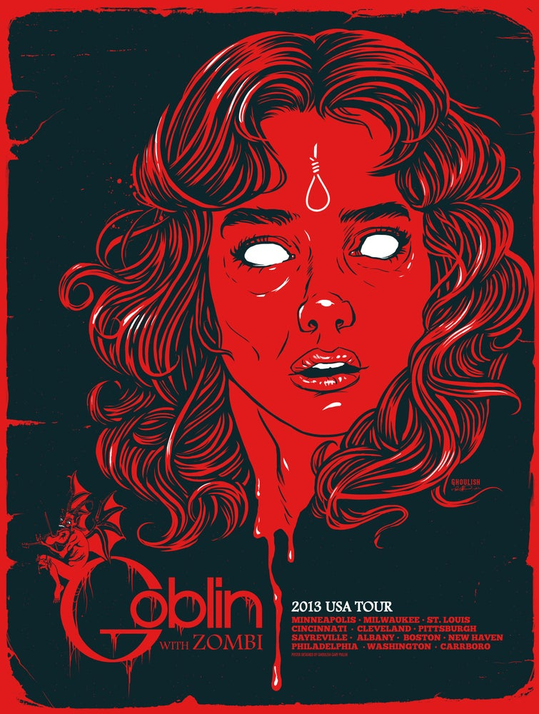 Image of Goblin 2013 Tour poster