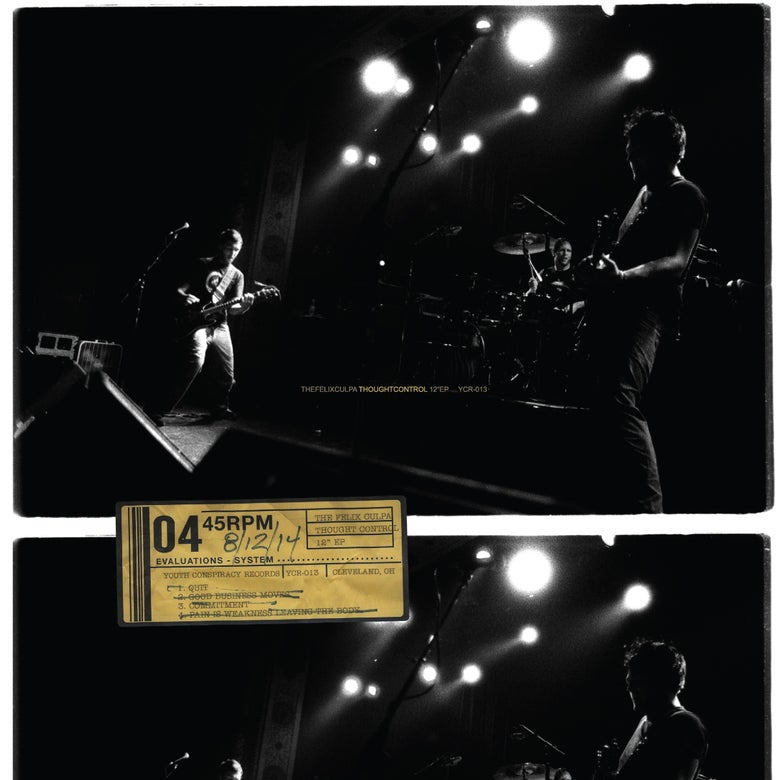 Image of The Felix Culpa - Thought Control 12-inch EP (dijon, gray or black vinyl)