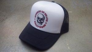 Image of M.O.D. Logo Mesh Black & White Hat