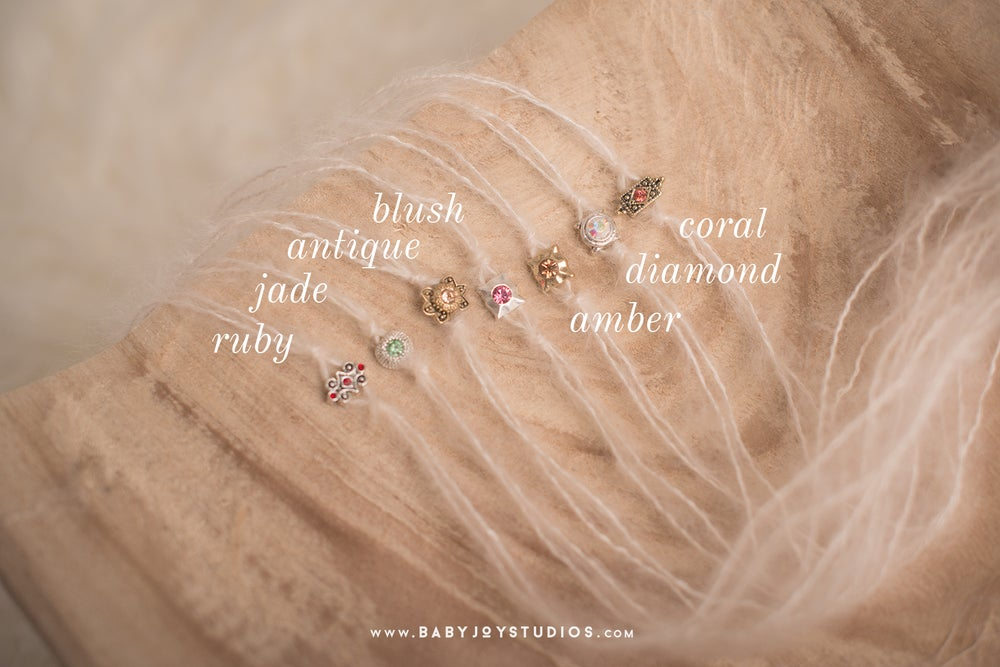 Image of {Jewel} mohair headbands