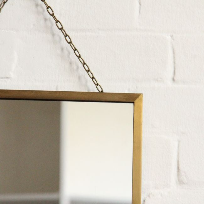 Image of Brass Mirror