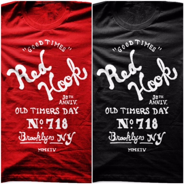 Image of  RED HOOK OLD TIMERS DAY TSHIRT