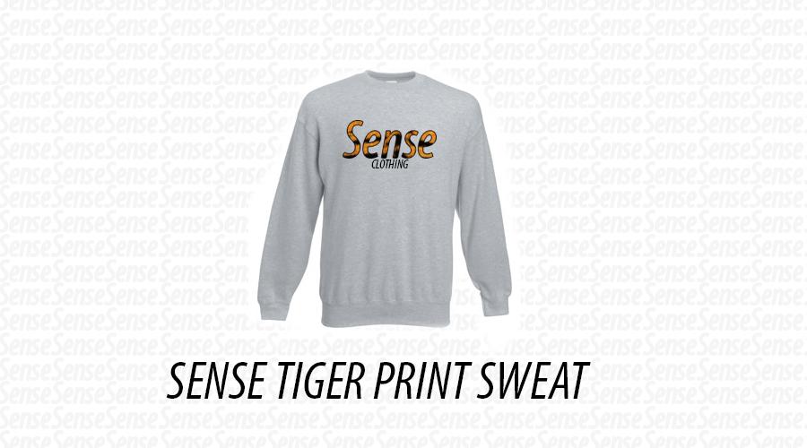 Image of Sense Tiger Print sweat