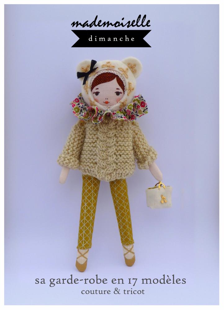 Image of livret de patrons pour poupée Mademoiselle Angèle Dimanche