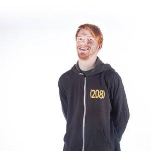 Image of Zip Hoodie Idaho (208)