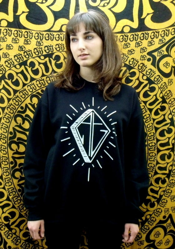 Image of Black diamond logo sweatshirt