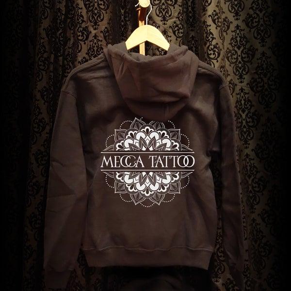 Image of Mecca Mandala Zip Up Hoodie