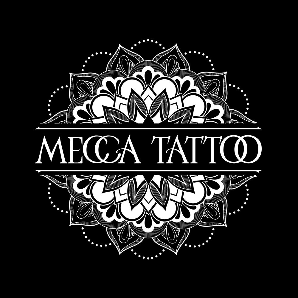 Image of Mecca Mandala Design T-shirt