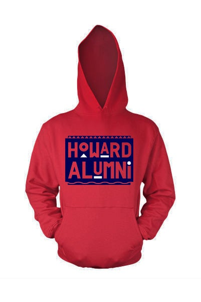 Image of Vintage HU - Red & Blue (Hoodie)
