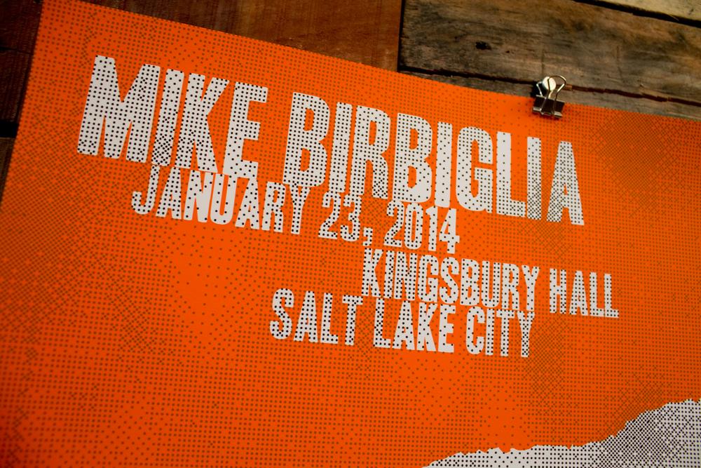 Image of Mike Birbiglia - January 23, 2014 Salt Lake City, UT