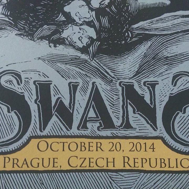 Image of Swans - October 20, 2014 Prague, Czech Republic