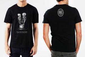 "Image of RMC ""Fetal skeletons in love"" T-shirt"