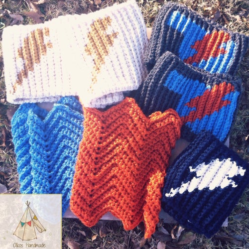 Image of OKC Thunder Inspired Scarves / Cowls