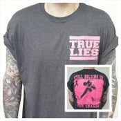 Image of Cancer Research Shirt (Pink on Grey)
