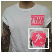 Image of Cancer Research Shirt (Pink on White)