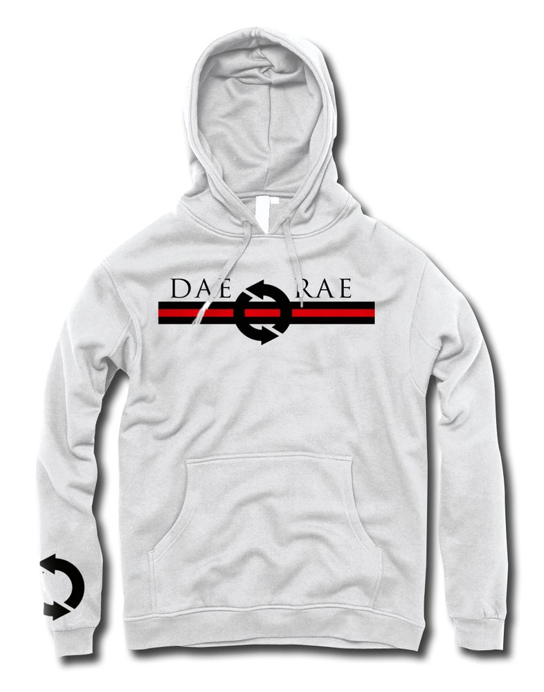 Image of Front and Center Hoodie - White