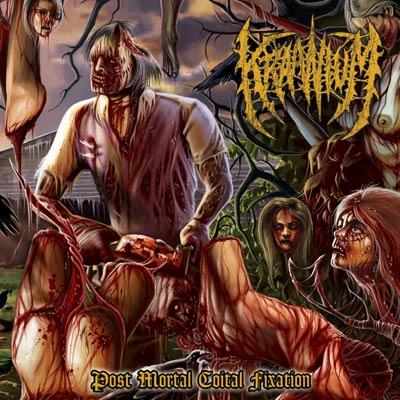 Image of KRAANIUM - Post Mortal Coital Fixation CD