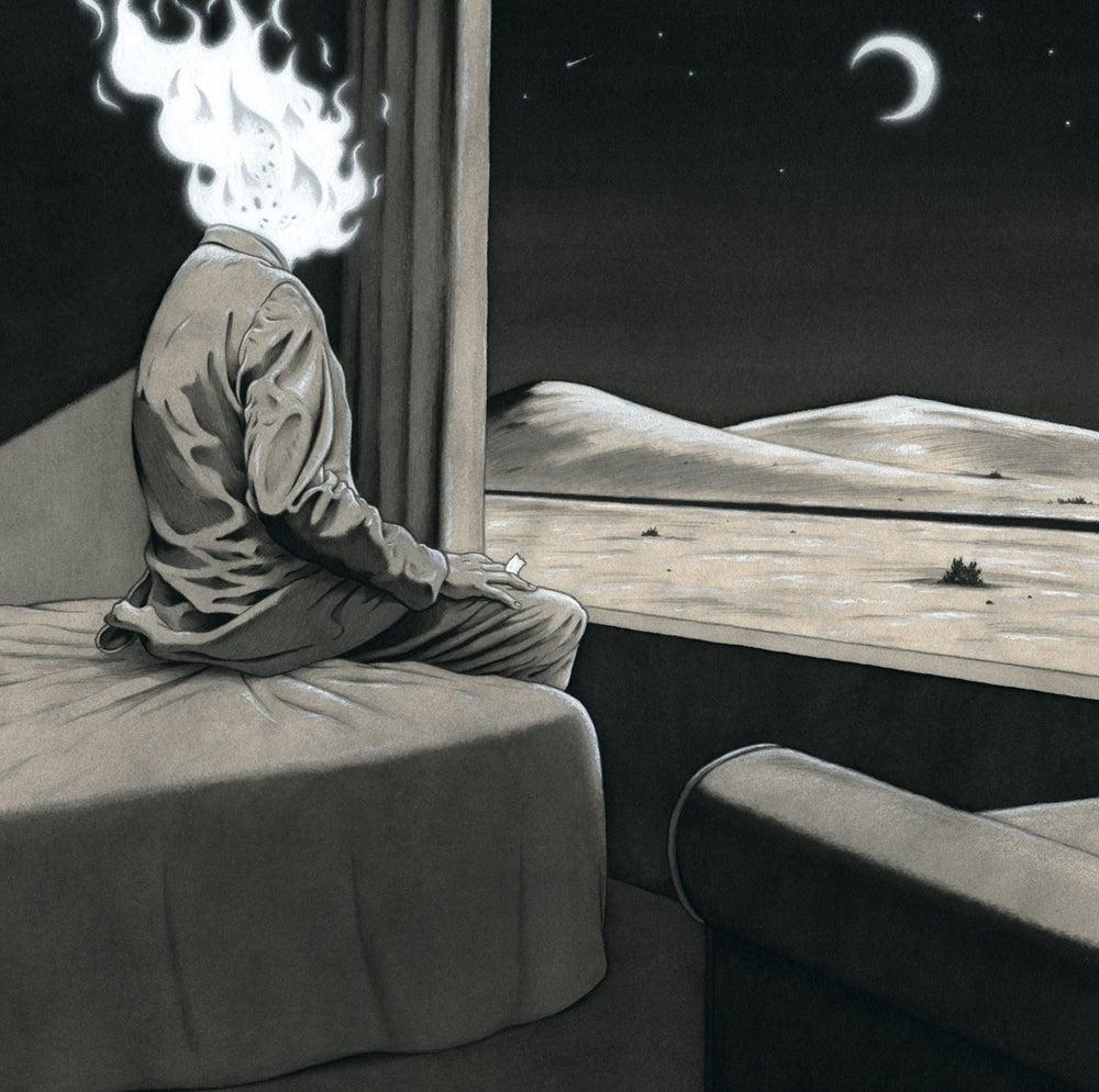 Image of 'Flame head' Fine art giclee print