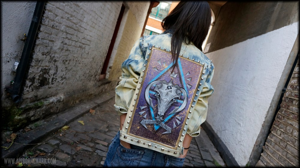 "Image of ""Origami Capricorn"" Custom Jacket"