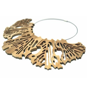 Image of LEAF - Bamboo Necklace