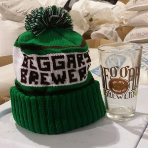 Image of Winter Knit Cap & Pint Glass Holiday Bundle