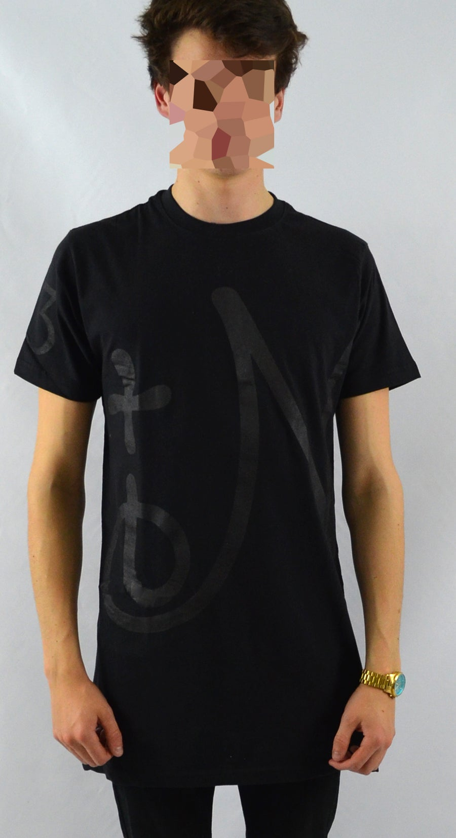 Image of Oversize Blackout Tee